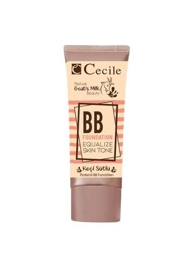 Cecile Keçi Sütlü Bb 02 Fondöten Renksiz